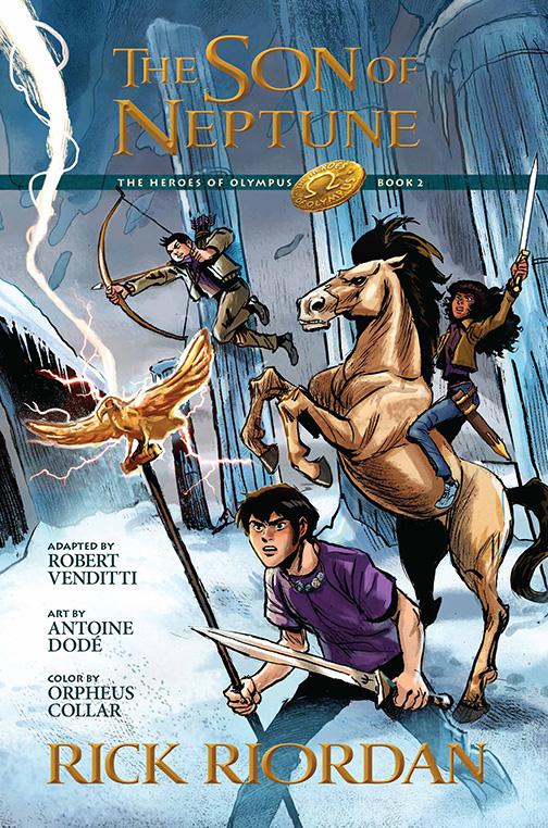 The Heroes Of Olympus Read Riordan