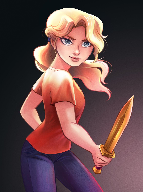 Read Riordan - Annabeth Chase