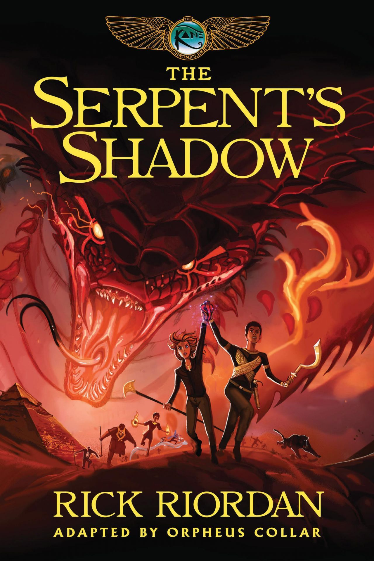 The Kane Chronicles - Book Three: The Serpent's Shadow: The Graphic Novel