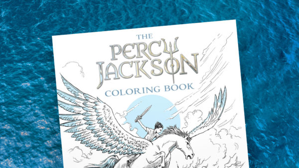 Read Riordan - The Percy Jackson Coloring Book