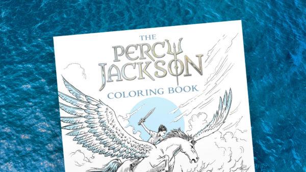 Read Riordan - The Percy Jackson Coloring Book
