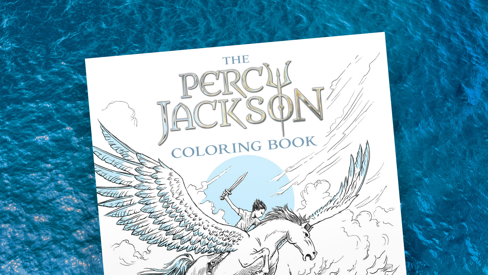 Behind The Book The Percy Jackson Coloring Book Illustrated By Keith Robinson Read Riordan