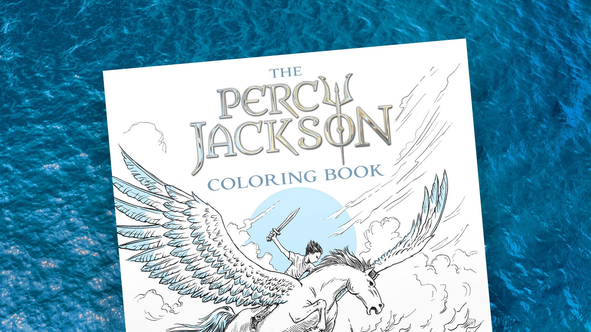 percy jackson coloring book pdf