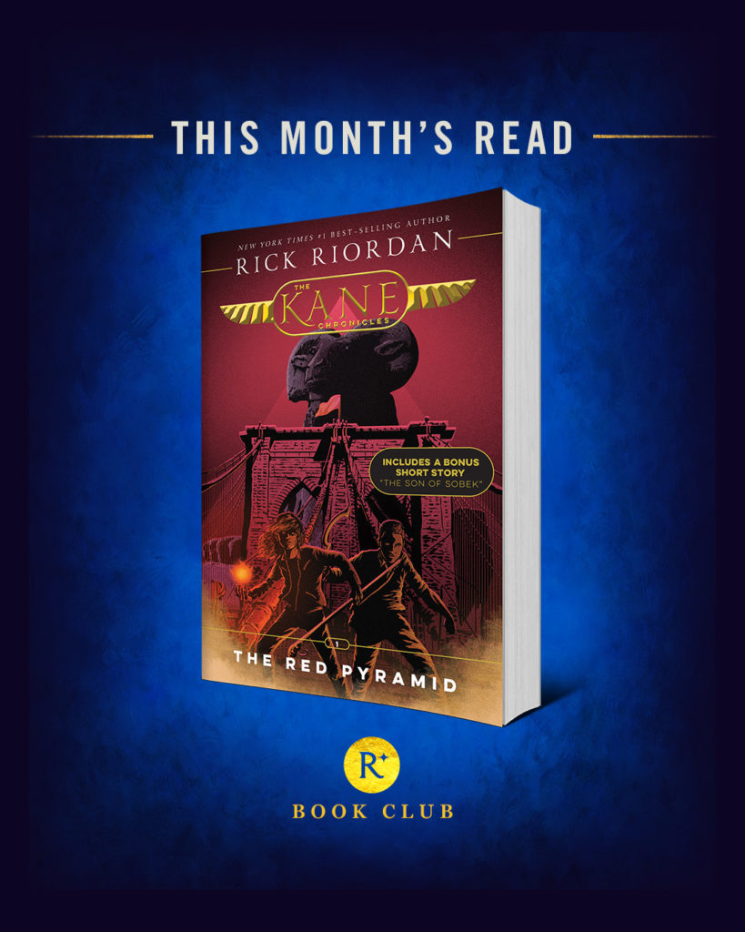 Read Riordan May Book Club