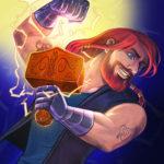 Thor character art
