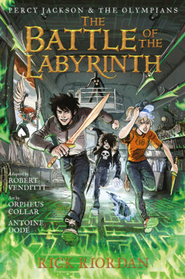 Battle of the Labyrinth Graphic Novel