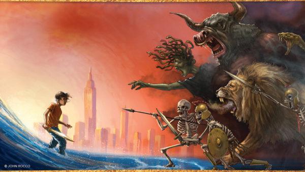 Lightning Thief Illustrated Edition