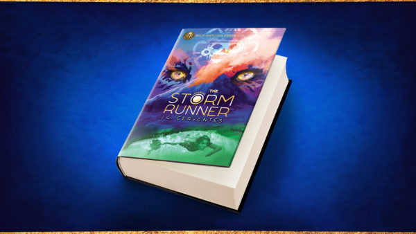 Storm Runner book header