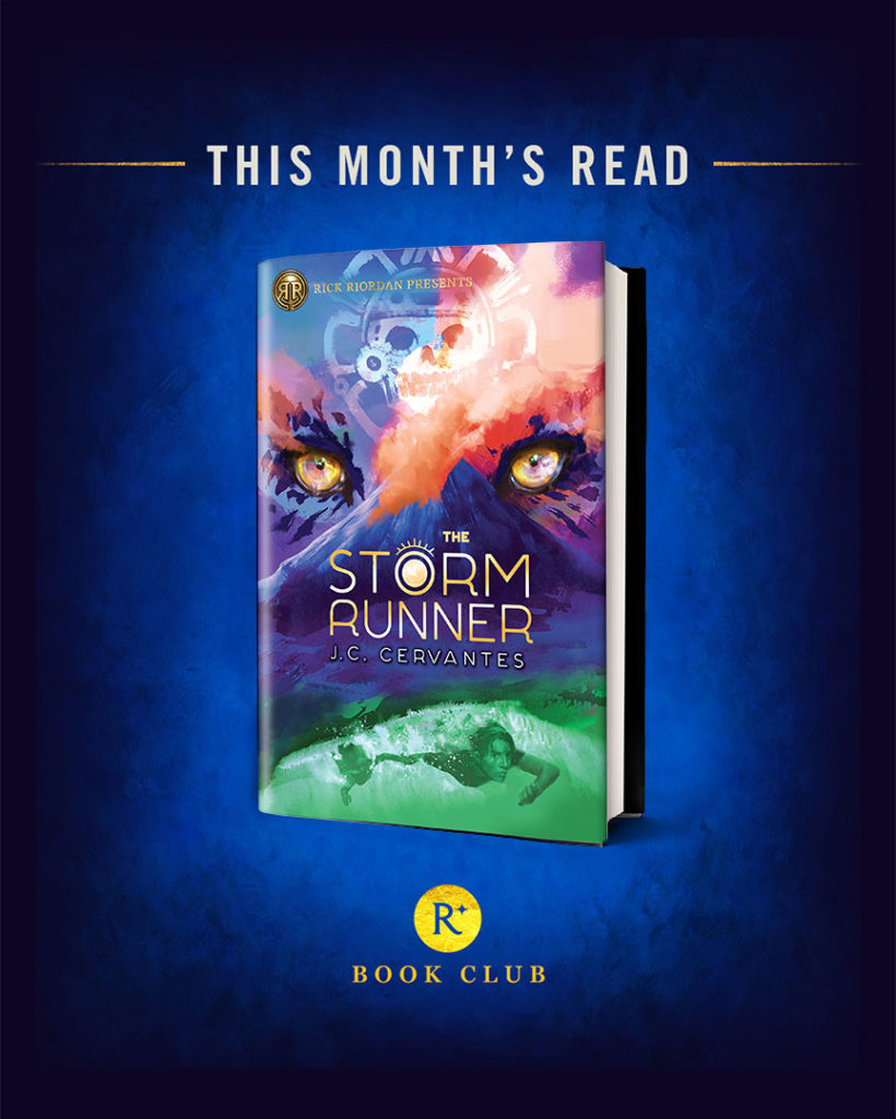 Storm Runner Book Club