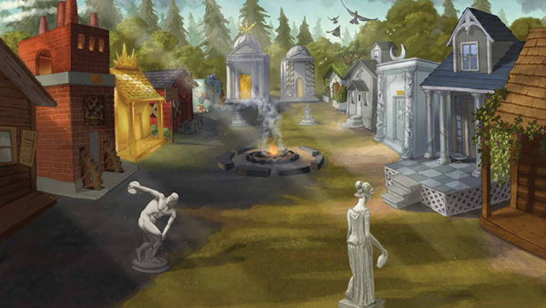 Camp Half-Blood Cabins