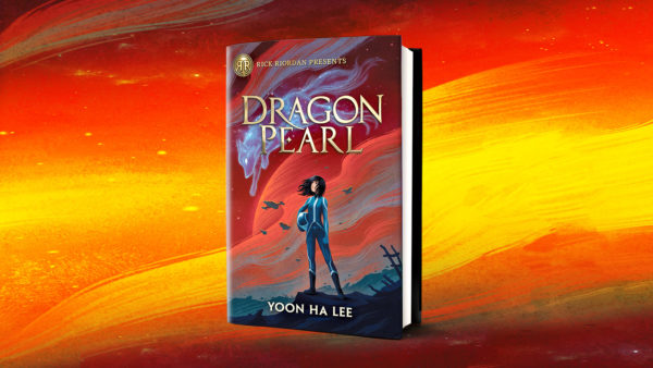Dragon Pearl cover fiery background