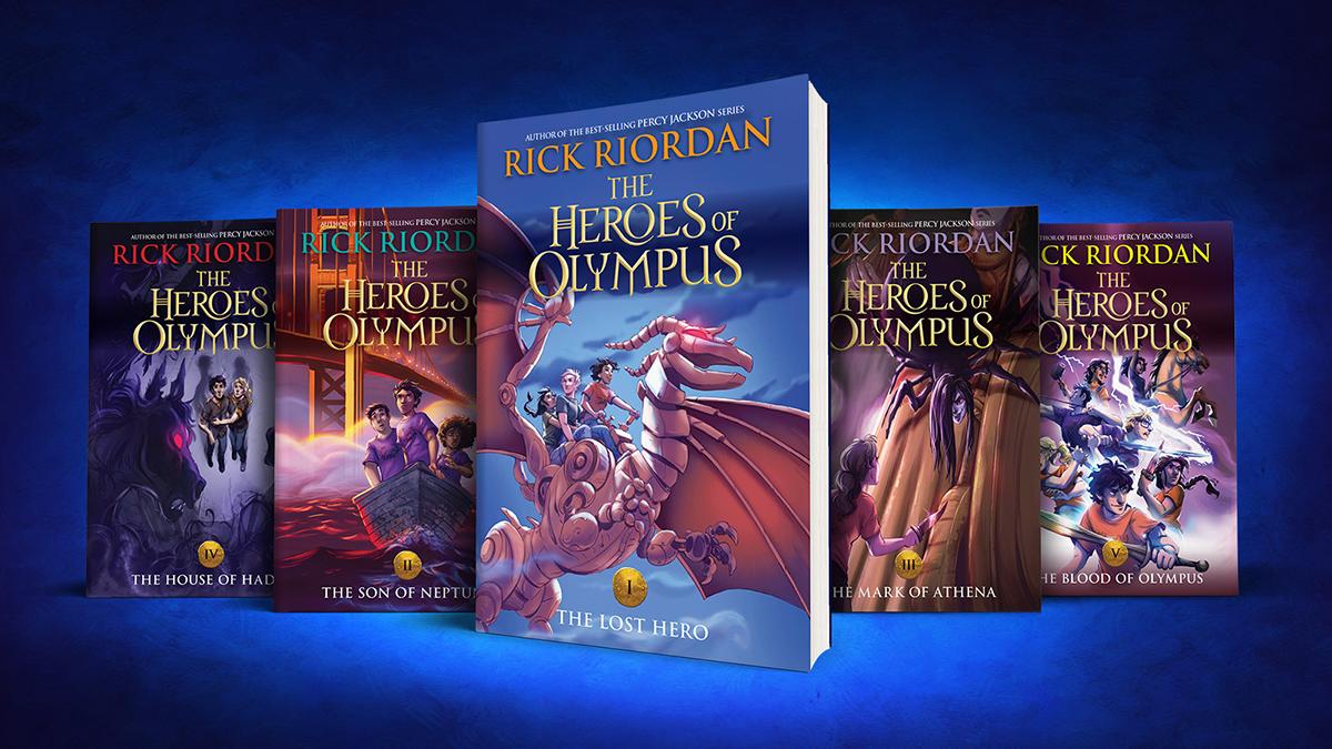 Heroes Of Olympus Book 1