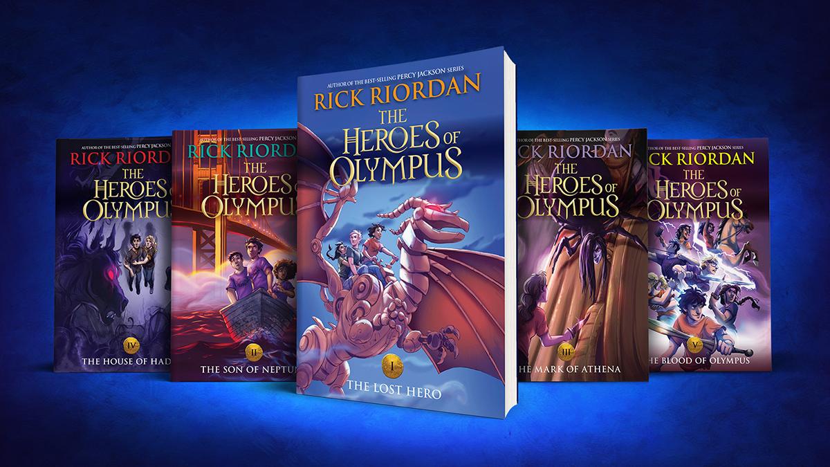 Heroes Of Olympus 10th Anniversary Read Riordan