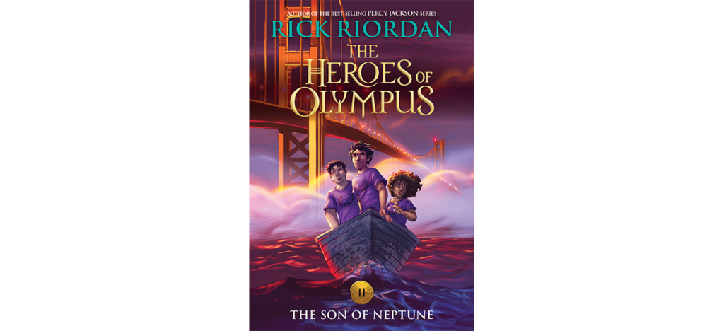 The Son of Neptune new cover