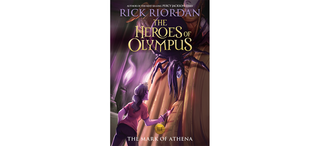 The Mark of Athena new cover