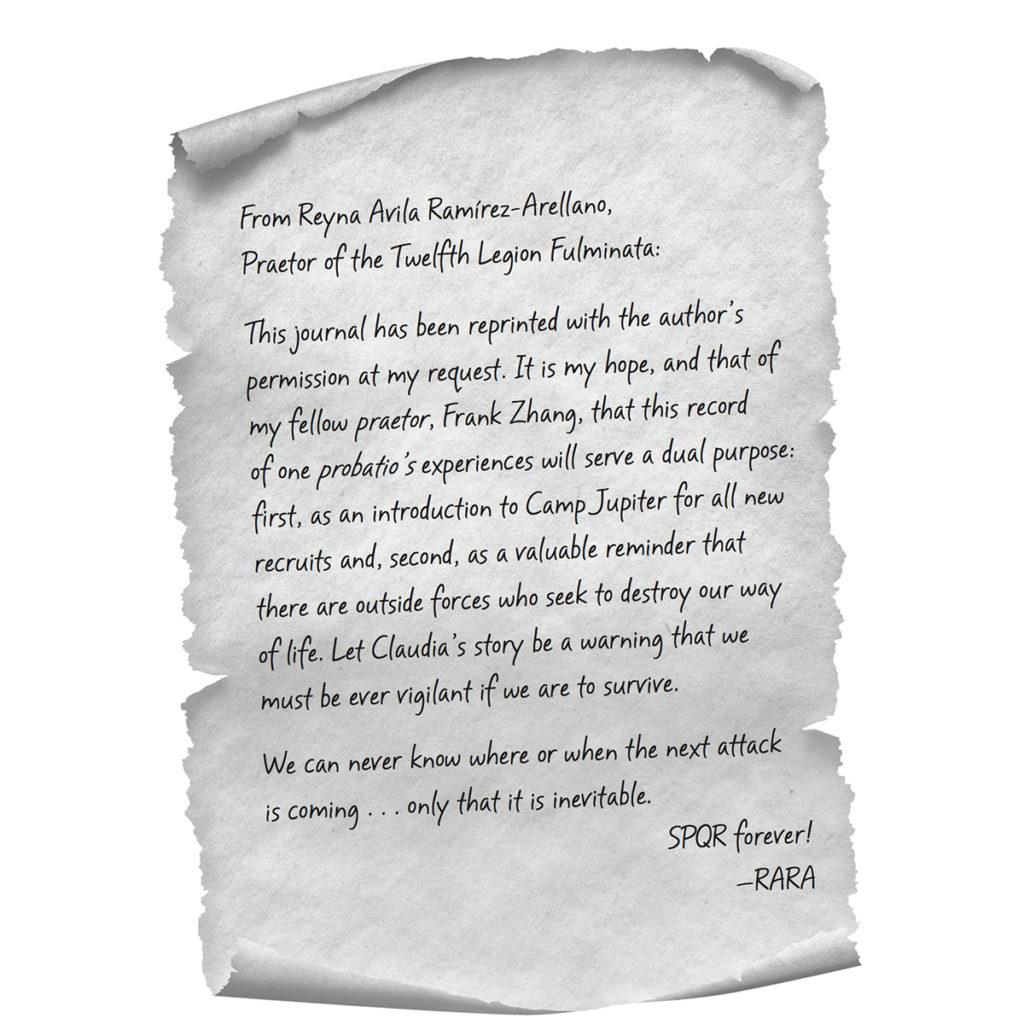 Reyna Letter