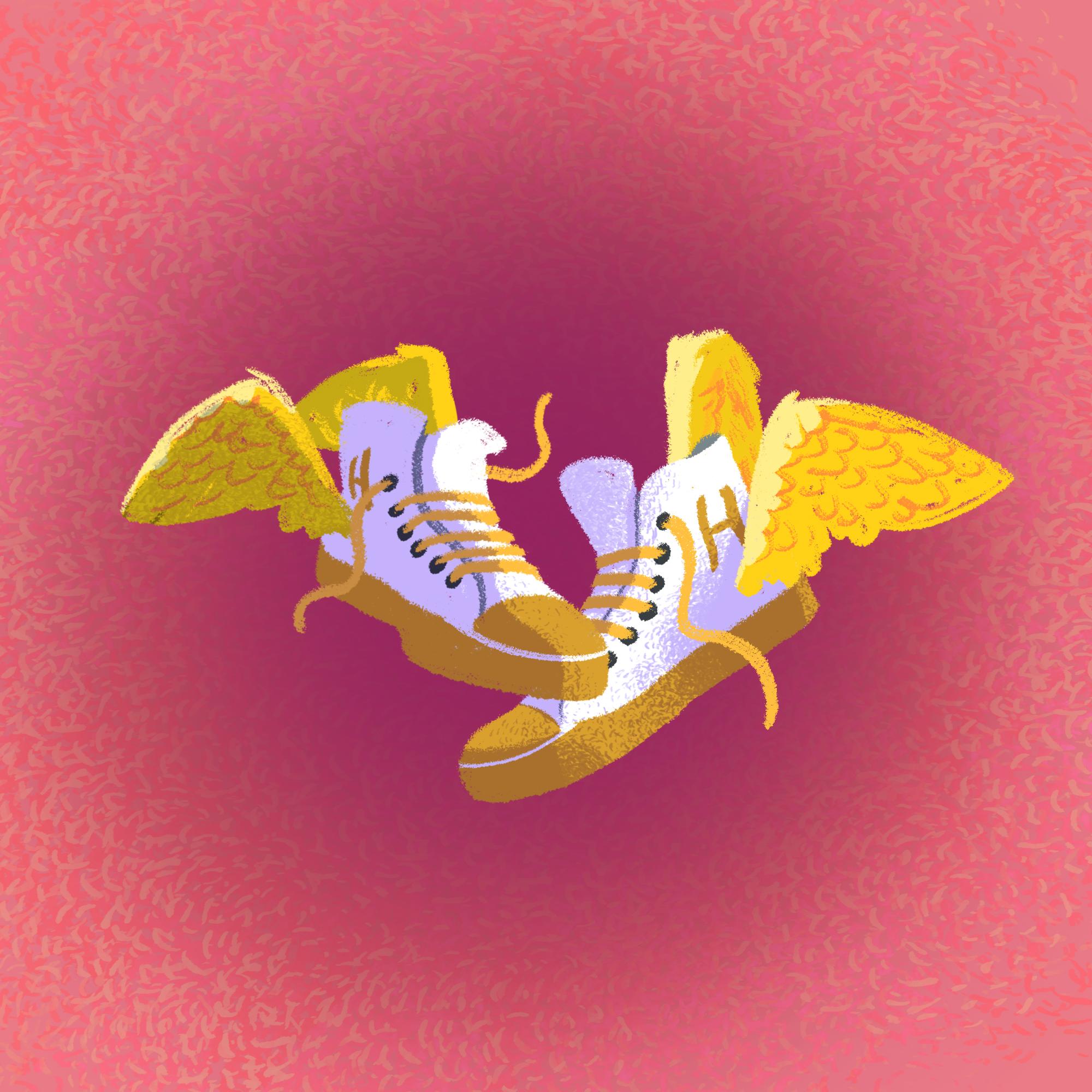 Hermes' sneakers