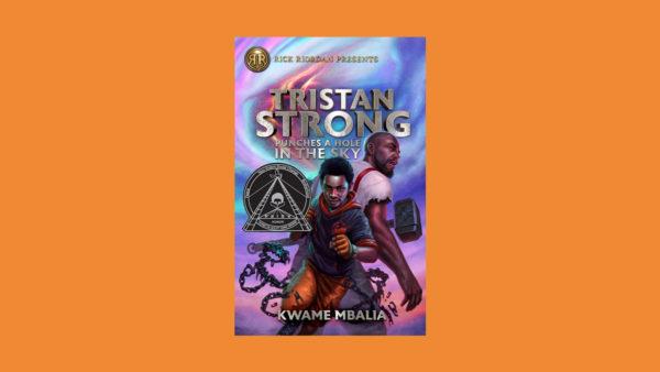 Tristan Strong Orange Background