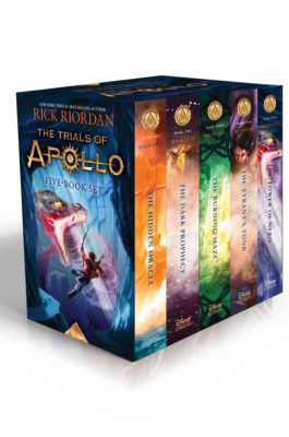 Trials of Apollo 5-Book Hardcover Boxed Set