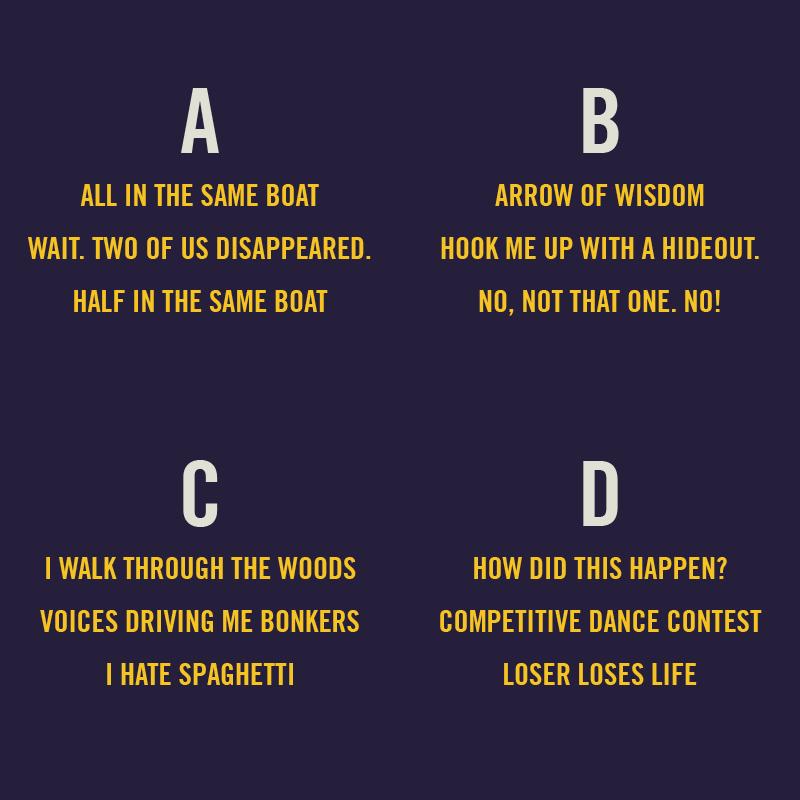 Fake Haiku Quiz #1
