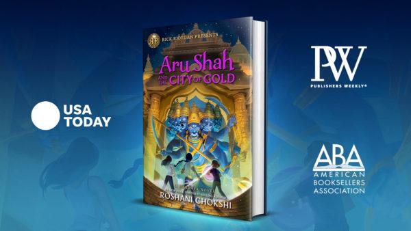 Aru Shah Best Seller Lists
