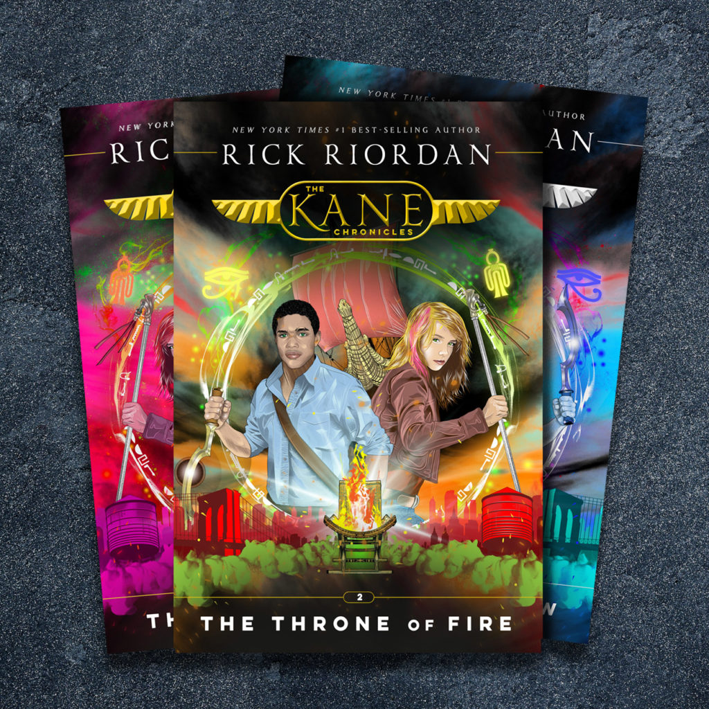 The Kane Chronicles - New Covers