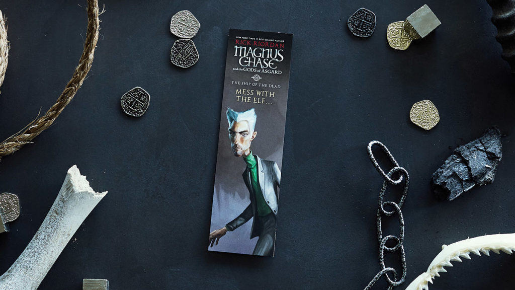 Magnus Chase - Ship of the Dead - Bookmark